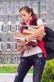 σπουδαστής κοριτσιών βι&b Στοκ εικόνα με δικαίωμα ελεύθερης χρήσης