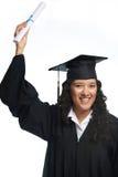 Σπουδαστής κοριτσιών κολλεγίου Στοκ Εικόνες