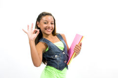 Σπουδαστής κοριτσιών Στοκ Εικόνες