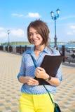Σπουδαστής στον πάγκο Στοκ εικόνα με δικαίωμα ελεύθερης χρήσης
