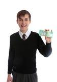 σπουδαστής χρημάτων εκμ&epsilon Στοκ φωτογραφία με δικαίωμα ελεύθερης χρήσης