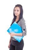 σπουδαστής brunette Στοκ Φωτογραφίες