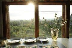 Σπόροι στα πιάτα Στοκ εικόνα με δικαίωμα ελεύθερης χρήσης