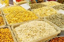 Σπόροι στην αγορά Antalya Στοκ Φωτογραφίες