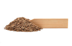 Σπόροι του κυμινοειδούς κάρου στο πιάτο Στοκ φωτογραφία με δικαίωμα ελεύθερης χρήσης