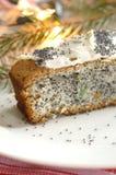 σπόρος παπαρουνών κέικ Στοκ εικόνα με δικαίωμα ελεύθερης χρήσης