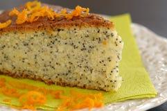 σπόρος παπαρουνών κέικ Στοκ εικόνες με δικαίωμα ελεύθερης χρήσης