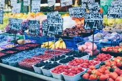 Στάβλοι αγοράς της Βιέννης Στοκ Φωτογραφία