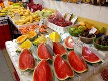 Στάβλοι αγοράς στην πόλη της Σιγκαπούρης Κίνα στοκ εικόνες