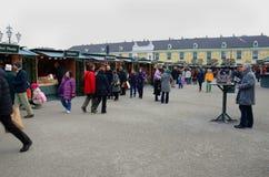 Στάβλοι αγοράς Χριστουγέννων, Βιέννη Στοκ εικόνες με δικαίωμα ελεύθερης χρήσης