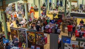 Στάβλοι εμπορευμάτων στο Sci Fi Scarborough Στοκ φωτογραφίες με δικαίωμα ελεύθερης χρήσης