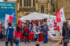 Στάβλος στο πολωνικό φεστιβάλ, Μελβούρνη, Αυστραλία Στοκ φωτογραφία με δικαίωμα ελεύθερης χρήσης