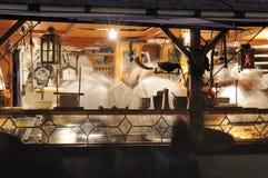 Στάβλος τροφίμων στη μεσαιωνική αγορά, esslingen Στοκ φωτογραφίες με δικαίωμα ελεύθερης χρήσης
