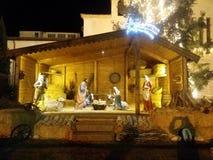 Στάβλος Nativity στοκ εικόνα με δικαίωμα ελεύθερης χρήσης