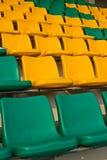 στάδιο καθισμάτων ποδοσφαίρου Στοκ Εικόνα