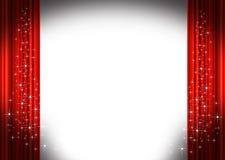 στάδιο κουρτινών διανυσματική απεικόνιση