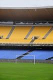 στάδιο ποδοσφαίρου Στοκ Εικόνες