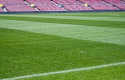 στάδιο ποδοσφαίρου στοκ εικόνα με δικαίωμα ελεύθερης χρήσης
