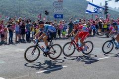 Στάδιο 2 Giro δ Ιταλία του 2018 Στοκ εικόνες με δικαίωμα ελεύθερης χρήσης