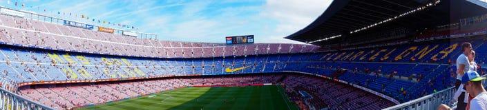 Στάδιο Nou στρατόπεδων, Βαρκελώνη, Ισπανία - 2 Σεπτεμβρίου 2018 στοκ εικόνες