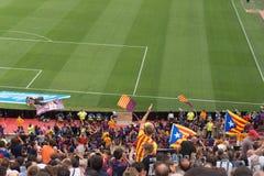 Στάδιο Nou στρατόπεδων, Βαρκελώνη, Ισπανία - 2 Σεπτεμβρίου 2018 στοκ φωτογραφίες