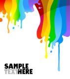 στάζοντας χρώμα Στοκ εικόνες με δικαίωμα ελεύθερης χρήσης