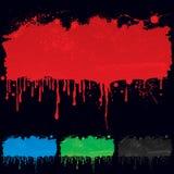 Στάλαγμα χρωμάτων Στοκ εικόνα με δικαίωμα ελεύθερης χρήσης