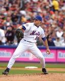 Στάμνα του Shawn Estes New York Mets Στοκ εικόνα με δικαίωμα ελεύθερης χρήσης
