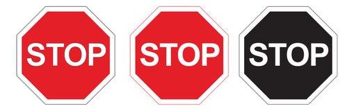 στάσεις σημαδιών Στοκ φωτογραφίες με δικαίωμα ελεύθερης χρήσης