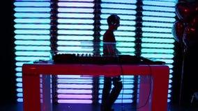 Στάσεις του DJ για τον τηλεχειρισμό απόθεμα βίντεο