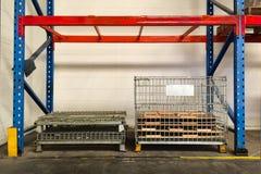 Στάση αποθήκευσης στην αποθήκη εμπορευμάτων στοκ φωτογραφίες με δικαίωμα ελεύθερης χρήσης