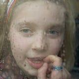 στάση βροχής στην αναμονή Στοκ εικόνες με δικαίωμα ελεύθερης χρήσης