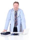 στάση γιατρών γραφείων στοκ φωτογραφίες με δικαίωμα ελεύθερης χρήσης
