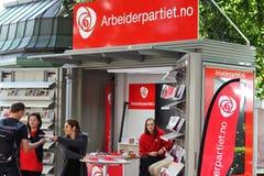 Στάση εκστρατείας κόμματος εργασίας Στοκ Εικόνες