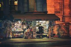 Στάση εφημερίδων στη Ρώμη Στοκ Εικόνες