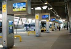 Στάση λεωφορείου GWB στοκ εικόνες με δικαίωμα ελεύθερης χρήσης