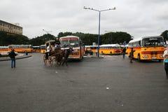 Στάση λεωφορείου valletta Λα Στοκ Φωτογραφίες