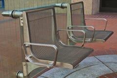 στάση καθισμάτων διαδρόμων Στοκ εικόνα με δικαίωμα ελεύθερης χρήσης