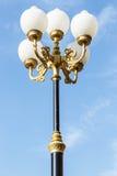 Στάση λαμπτήρων στο ναό στοκ φωτογραφία με δικαίωμα ελεύθερης χρήσης