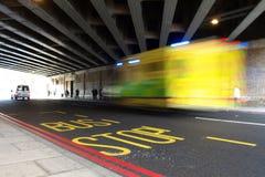Στάση λεωφορείου Στοκ Εικόνες
