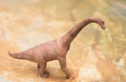 Στάση παιχνιδιών Brachiosaurus Στοκ Εικόνα