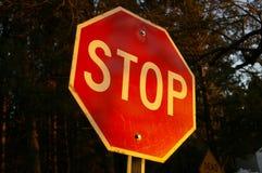 στάση σημαδιών Στοκ εικόνες με δικαίωμα ελεύθερης χρήσης