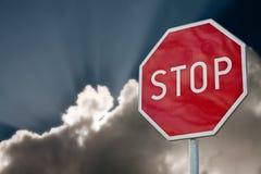 στάση σημαδιών Στοκ φωτογραφία με δικαίωμα ελεύθερης χρήσης