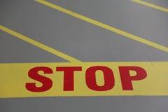 στάση σημαδιών Στοκ φωτογραφίες με δικαίωμα ελεύθερης χρήσης