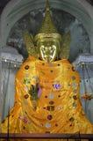 Στάση του Βούδα το Μιανμάρ Στοκ Φωτογραφίες