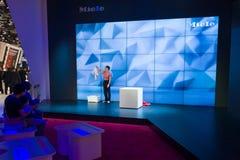 Στάση του κατασκευαστή των οικιακών συσκευών Miele Στοκ Εικόνες