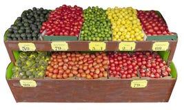 Στάση φρούτων και λαχανικών στοκ φωτογραφία