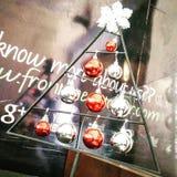 Στάση χριστουγεννιάτικων δέντρων Στοκ Εικόνες