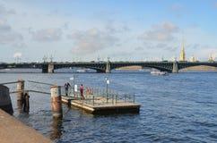 Στάση Aquabus Στοκ φωτογραφία με δικαίωμα ελεύθερης χρήσης