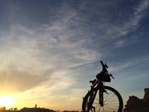 στάση bycicle Στοκ Φωτογραφίες